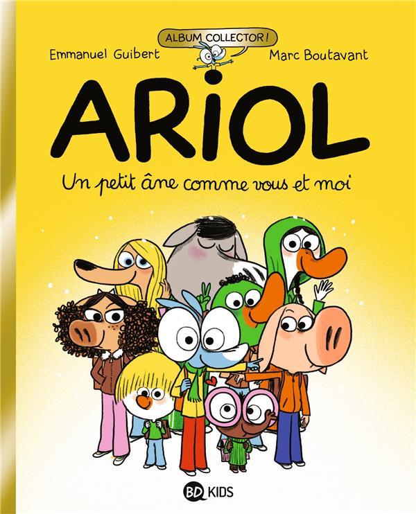 ARIOL T.1  -  UN PETIT ANE COMME VOUS ET MOI