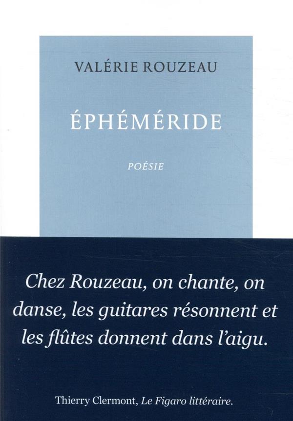 EPHEMERIDE ROUZEAU VALERIE TABLE RONDE