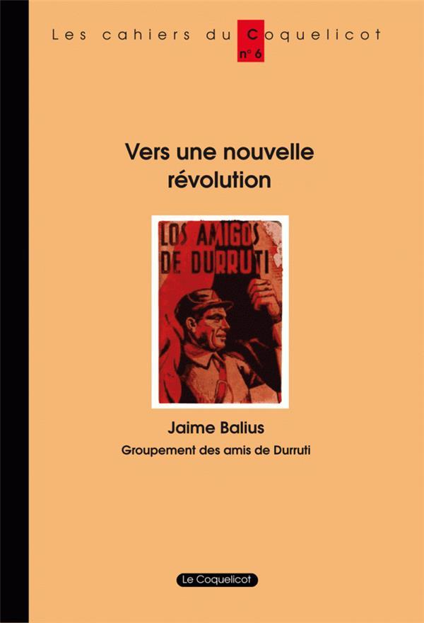 VERS UNE NOUVELLE REVOLUTION