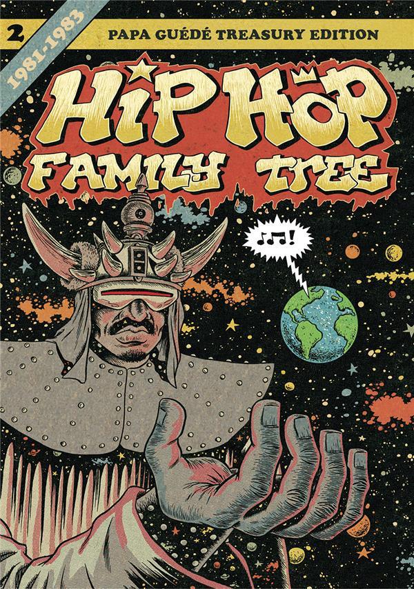 HIP HOP FAMILY TREE T.2  -  1981-1983 Piskor Ed Papa Guédé