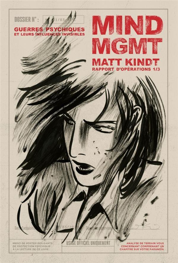 MIND MGMT  -  RAPPORT D'OPERATIONS T.1  -  GUERRES PSYCHIQUES ET LEURS INFLUENCES INVISIBLES