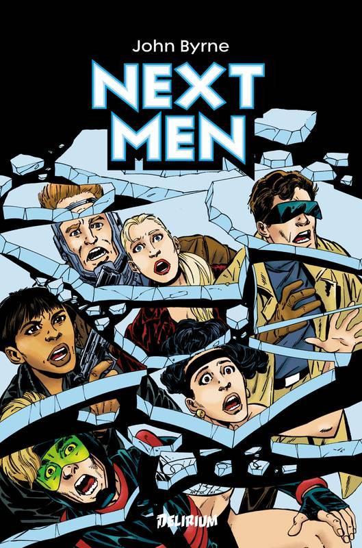 NEXT MEN - INTEGRALE VOLUME 1  DELIRIUM 77