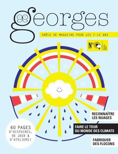 MAGAZINE GEORGES N.32  -  METEO  GRAINS DE SEL