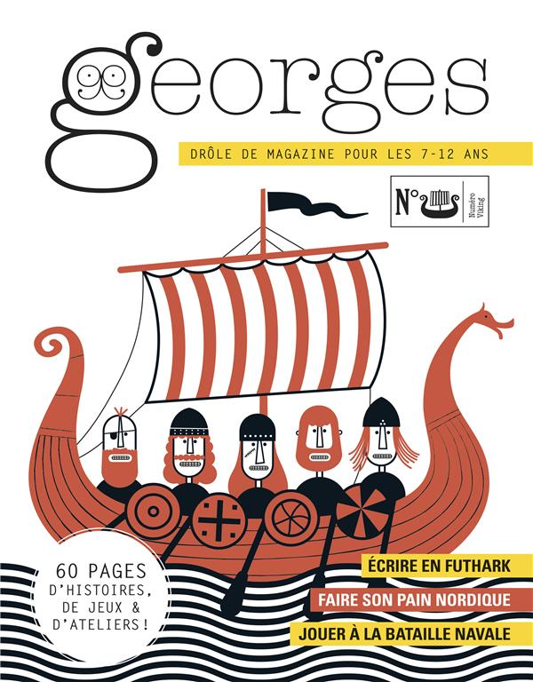 MAGAZINE GEORGES N 39 - VIKING COLLECTIF/COUTANCE MAISON GEORGES