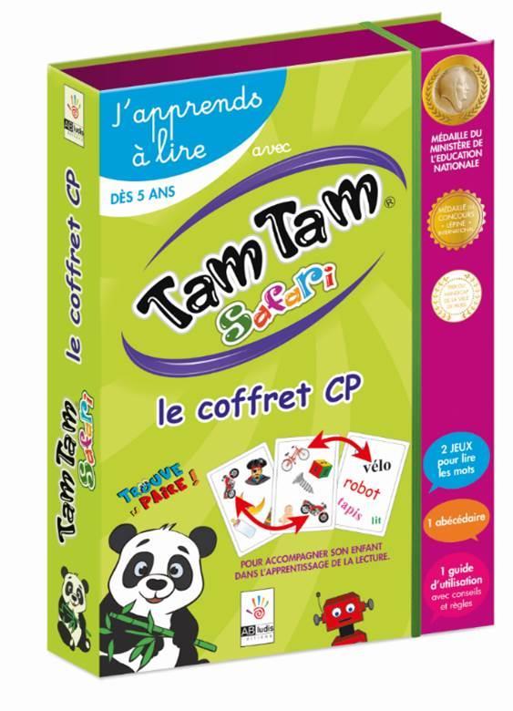 TAM TAM SAFARI, J APPRENDS A LIRE - LE COFFRET CP  Lgdj
