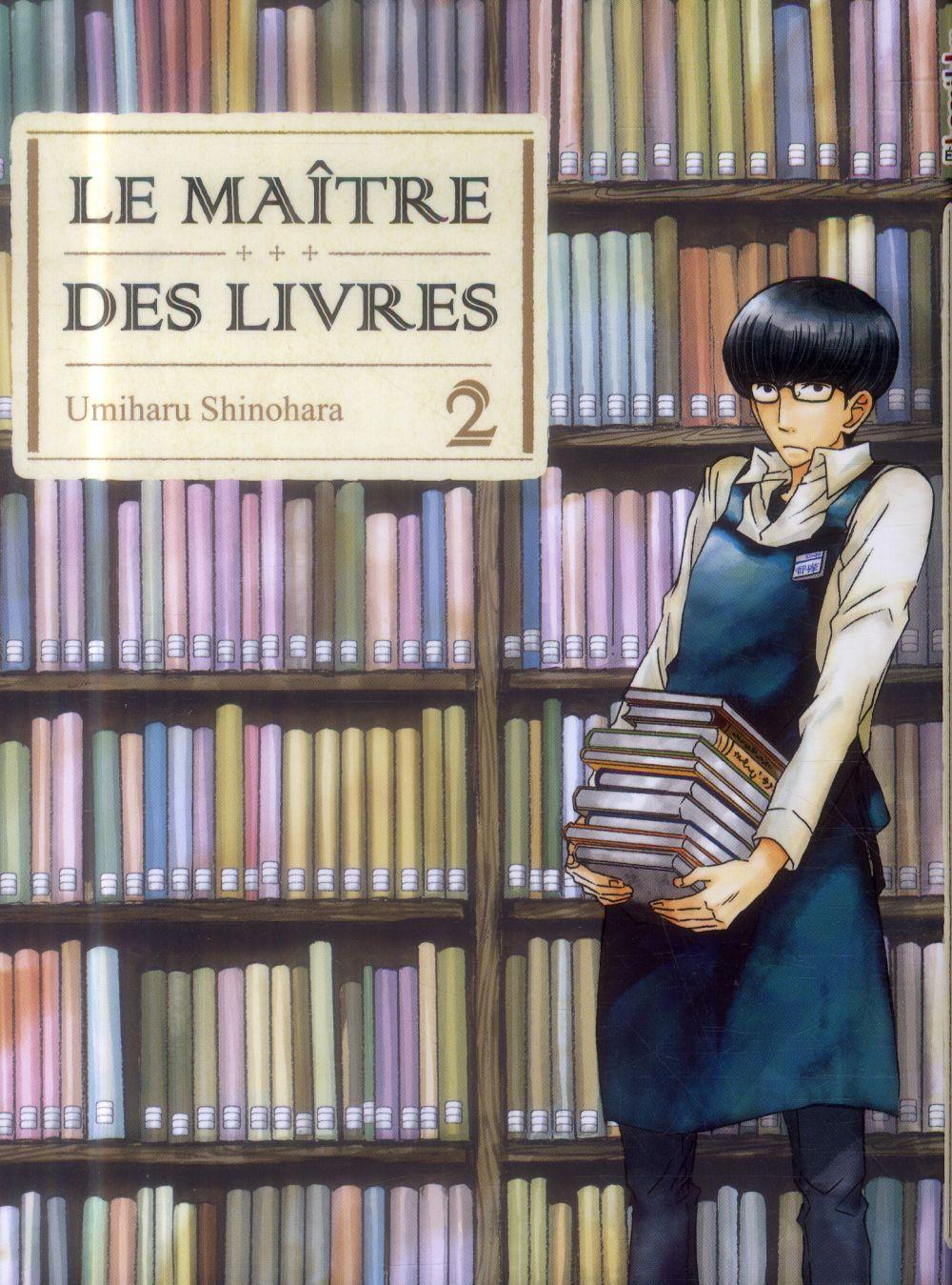 LE MAITRE DES LIVRES - TOME 2 SHINOHARA UMIHARU KOMIKKU