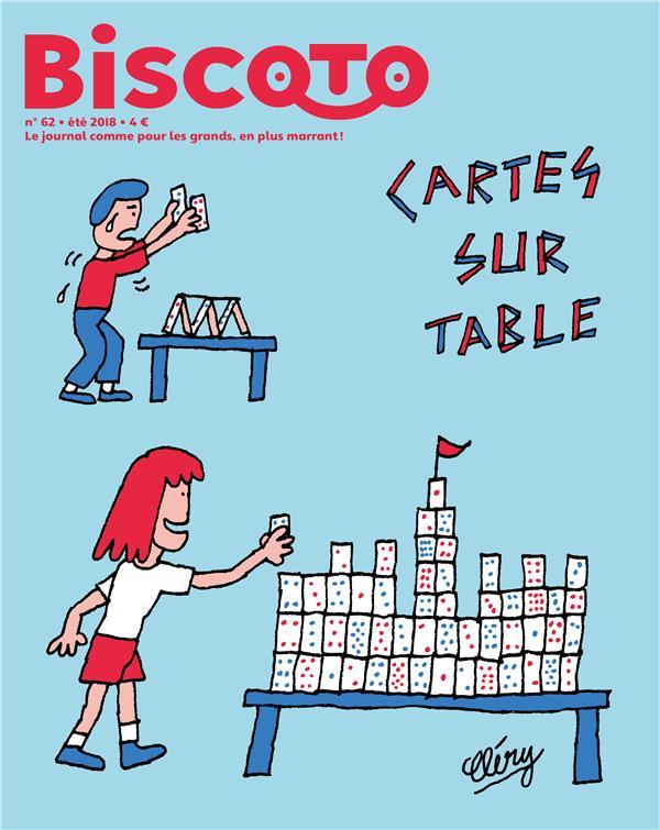 BISCOTO N 62 - CARTES SUR TABLE - JUILET 2018