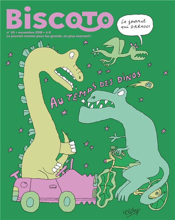 JOURNAL BISCOTO N.65  -  AU TEMPS DE DINOS  BISCOTO
