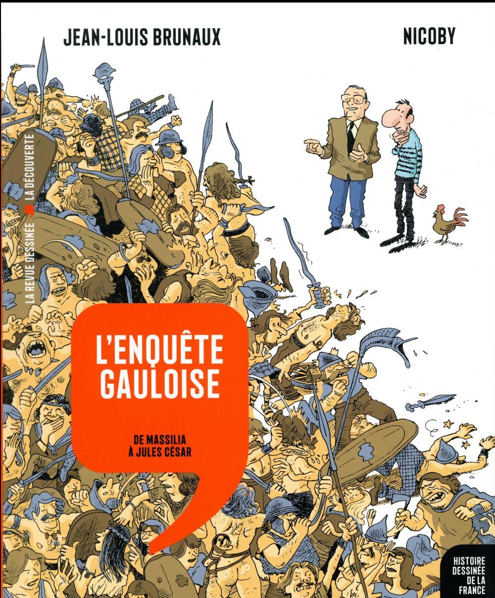 L'ENQUETE GAULOISE - DE MASSILIA A JULES CESAR Nicoby Revue dessinée