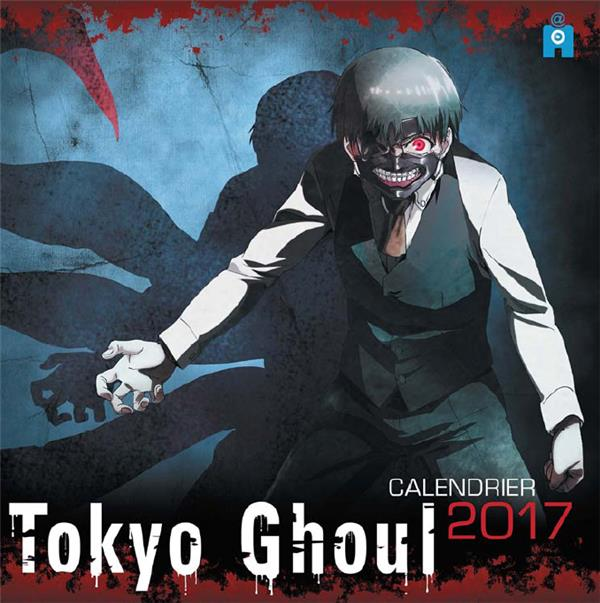 TOKYO GHOUL  -  CALENDRIER (EDITION 2017) XXX Ynnis éditions