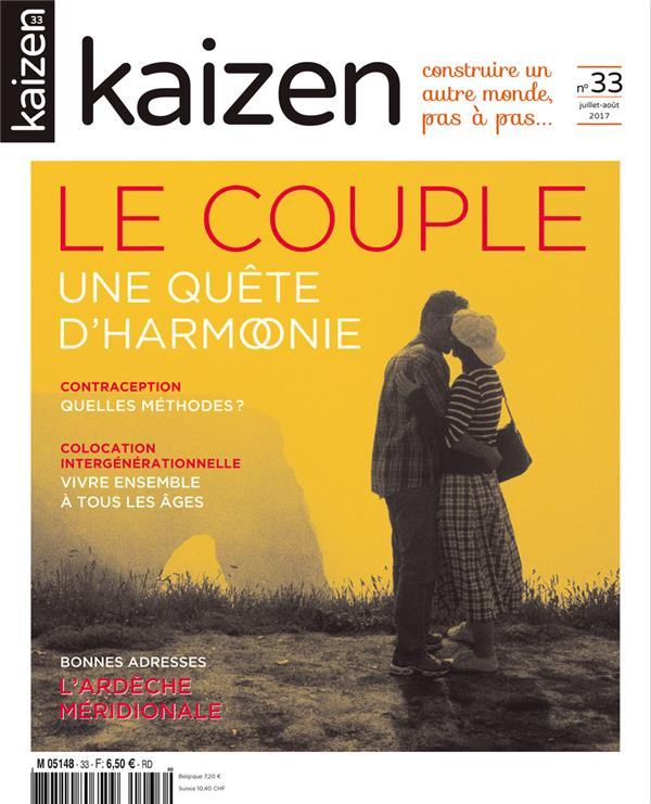 KAIZEN N.33  -  LE COUPLE, UNE QUETE D'HARMONIE  Kaizen