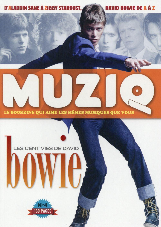 REVUE MUZIQ N.4  -  DAVID BOWIE GOATY/GEUDIN Jazz et Cie