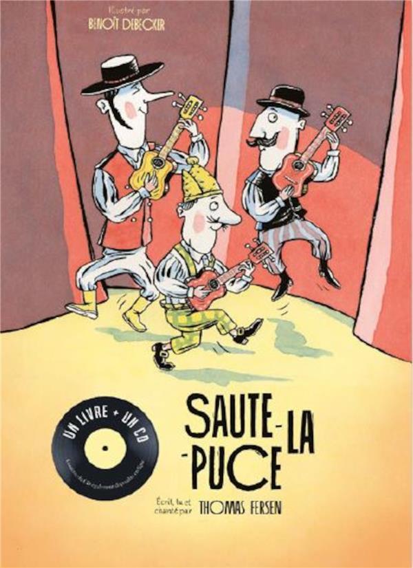 SAUTE-LA-PUCE (LIVRE+CD)