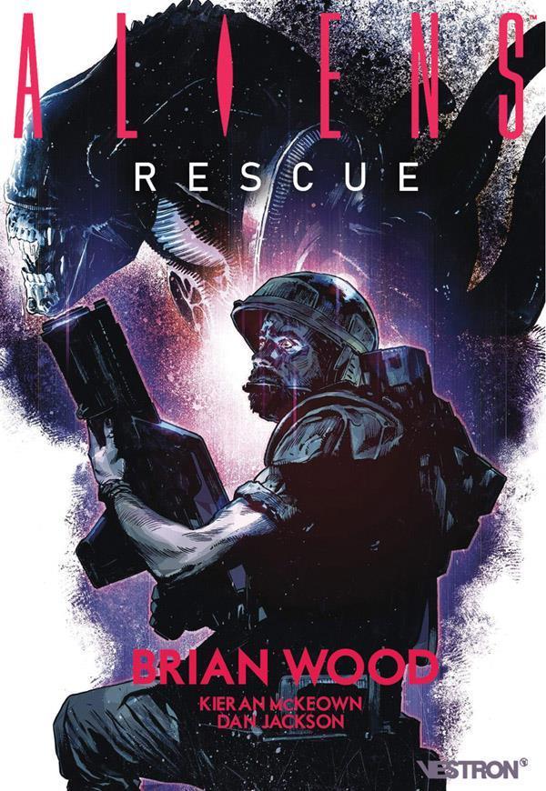 ALIENS  -  RESCUE WOOD/MCKEOWN ALAYONE COMICS