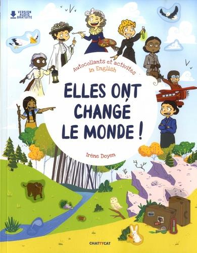 ELLES ONT CHANGE LE MONDE ! LIVRE D'ACTIVITES AVEC PLUS DE 400 STICKERS