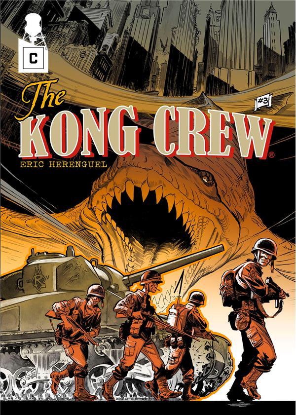 THE KONG CREW T.3 HERENGUEL, ERIC CAURETTE