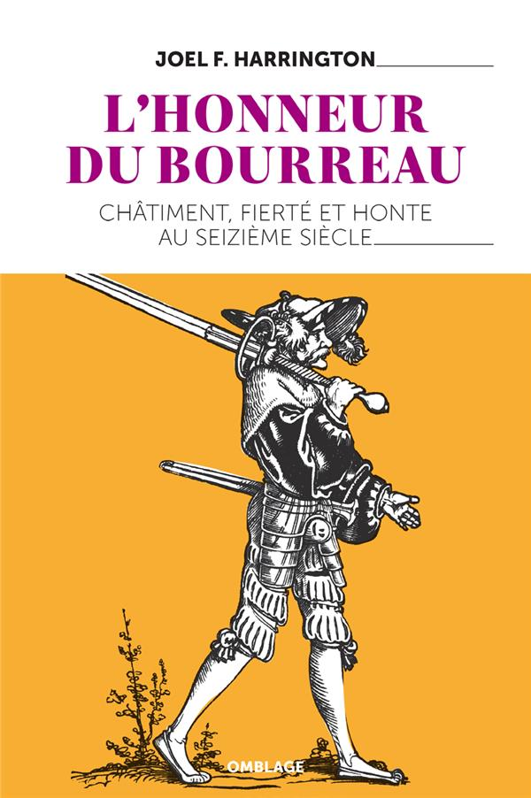 L-HONNEUR DU BOURREAU - CHATIM HARRINGTON JOEL F. OMBLAGES