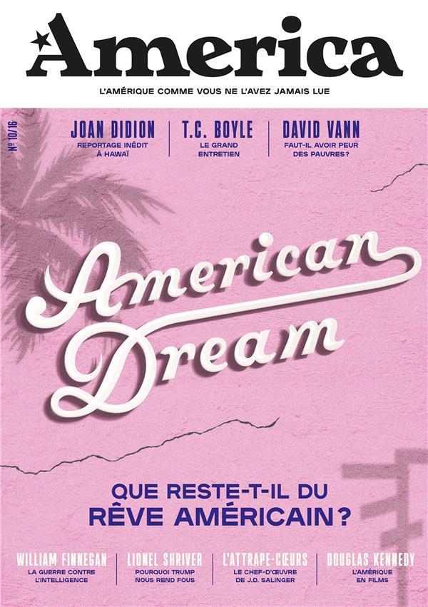 AMERICA - VOLUME 10 - AMERICAN DREAM FOTTORINO/BUSNEL Lgdj