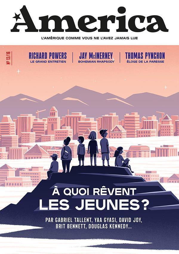 REVUE AMERICA N.13  -  A QUOI REVENT LES JEUNES ? BUSNEL FRANCOIS/FOTT NC
