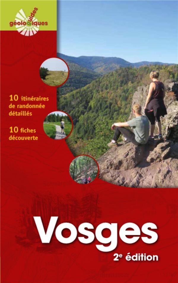 VOSGES  -  10 ITINERAIRES DE RANDONNEES DETAILLES (2E EDITION) DELANGLE/DECOBECQ OMNISCIENCE