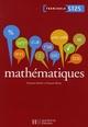 MATHEMATIQUES TERM. ST2S - LIVRE ELEVE - ED.2008