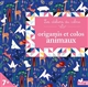 ORIGAMIS ET COLOS ANIMAUX PAGE ALICE Deux coqs d'or