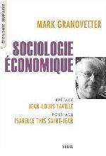SOCIOLOGIE ECONOMIQUE