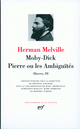 MOBY DICK - PIERRE OU LES AMBIGUITES MELVILLE HERMAN GALLIMARD