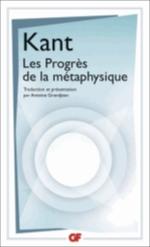 LES PROGRES DE LA METAPHYSIQUE