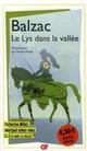 LE LYS DANS LA VALLEE BALZAC HONORE FLAMMARION