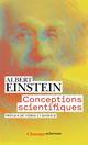 CONCEPTIONS SCIENTIFIQUES Einstein Albert Flammarion