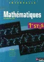 MATHEMATIQUES 1ERE ST 2S ELEVE HUGON ALBERT NATHAN