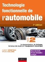 TECHNOLOGIE FONCTIONNELLE DE L'AUTOMOBILE - TOME 2 - 7E ED. Mèmeteau Hubert Dunod