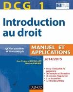 INTRODUCTION AU DROIT  DCG1  2