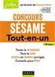 CONCOURS SESAME - 4E ED. - TOUT-EN-UN SPELLER M-V. Dunod