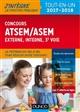 CONCOURS ATSEMASEM - INTERNE ET 3E VOIE, VILLE DE PARIS - 2017-2018 Pelletier Corinne Dunod