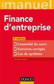 FINANCE LICENCE - T01 - FINANCE D'ENTREPRISE - 3E ED. - L'ESSENTIEL DU COURS - EXERCICES CORRIGES -