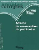 ATTACHE DE CONSERVATION DU PAT