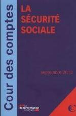 LA SECURITE SOCIALE SEPTEMBRE 2012