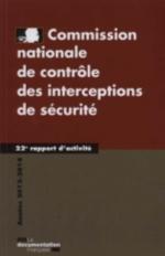 COMMISSION NATIONALE DE CONTROLE DES INTERCEPTIONS DE SECURITE  -  22E RAPPORT D'ACTIVITE, (EDITION 2014)