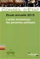 L'ACTION ECONOMIQUE DES PERSONNES PUBLIQUES