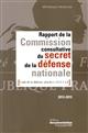 RAPPORT 2013-2015 DE LA COMMISSION CONSULTATIVE DU SECRET - DE LA DEFENSE NATIONALE