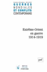 Guerres mondiales et conflits contemporains Extrême-Orient en guerre COLLECTIF PUF