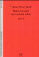 MANUEL DE DROIT INTERNATIONAL PUBLIC (3E EDITION)