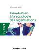 INTRODUCTION A LA SOCIOLOGIE DES ORGANISATIONS MISSET SEVERINE NATHAN