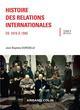 HISTOIRE DES RELATIONS INTERNATIONALES - DE 1919 A 1945