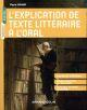 L'EXPLICATION DE TEXTE LITTERAIRE A L'ORAL LYRAUD PIERRE NATHAN