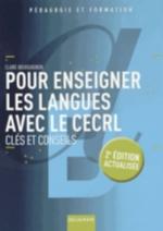 POUR ENSEIGNER LES LANGUES AVEC LE CECRL 2E EDT Bourguignon Claire Delagrave