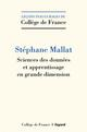 SCIENCES DES DONNEES MALLAT STEPHANE FAYARD