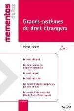 GRANDS SYSTEMES DE DROIT ETRANGERS - 6E ED.